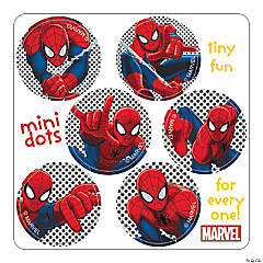 Spiderman Mini Dots Stickers