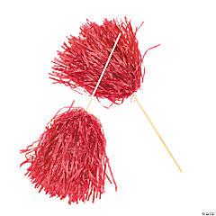Spirit Pom-Poms - Red
