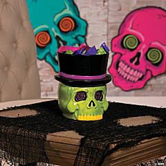 Spookadelic Candy Bowl Halloween Décor