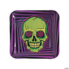 Spookadelic Dinner Plates