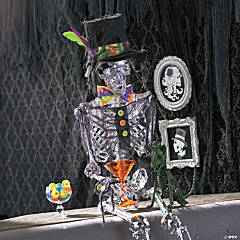 Spookadelic Dress-Up Male Posable Skeleton