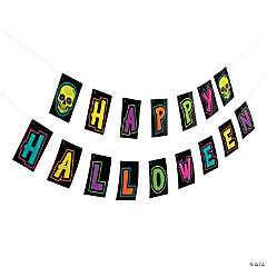 Spookadelic Halloween Garland