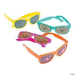 Spookadelic Hypnotic Pinhole Glasses