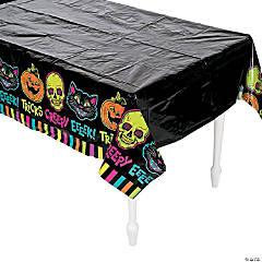 Spookadelic Plastic Tablecloth