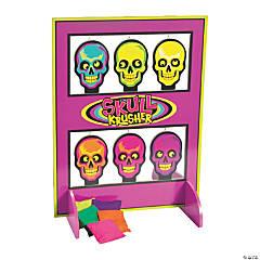 Spookadelic Skulls on a Shelf Bean Bag Toss Game