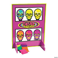 Spookadelic Skulls on a Shelf Game
