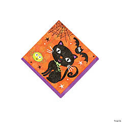 Spooky Boots Beverage Napkins