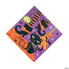 Spooky Boots Luncheon Napkins