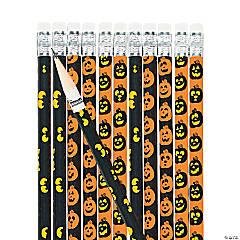 Spooky Eyes & Jack-O'-Lantern Pencils