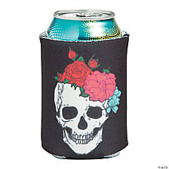 Spooky Floral Can Covers