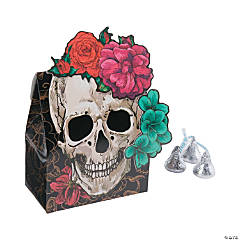 Spooky Floral Favor Boxes
