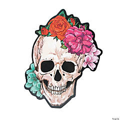 Spooky Floral Sign Halloween Décor