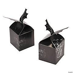 Spooky Soiree Bat Favor Boxes