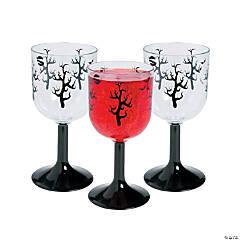 Spooky Soiree Plastic Wine Glasses