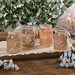 Spool of Pearls Centerpiece Idea