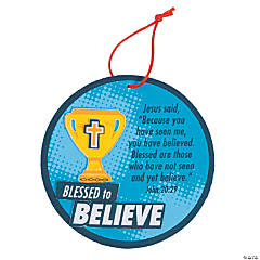 Sports VBS Believe Ornament Craft Kit