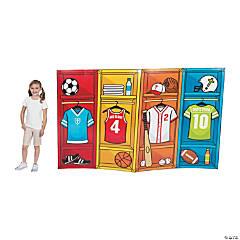 Sports VBS Locker Cardboard Stand-Ups