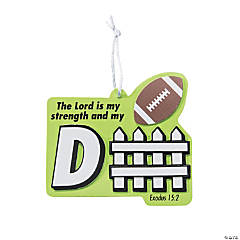 Sports VBS Lord is My Strength Ornament Craft Kit