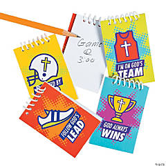 Sports VBS Mini Spiral Notebooks