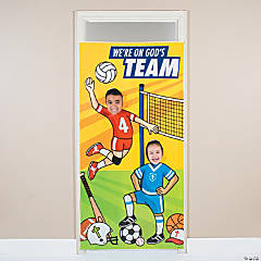 Sports VBS Photo Door Banner
