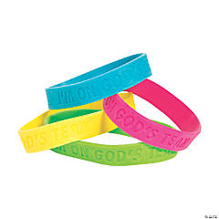 Sports VBS Rubber Bracelets