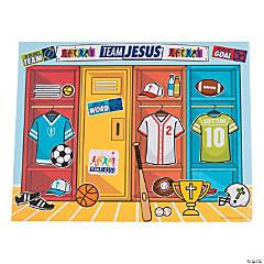 Sports VBS Sticker Scenes