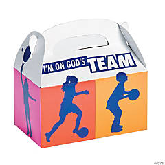 Sports VBS Treat Boxes