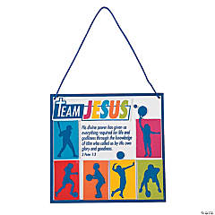 Sports VBS Verse Sign Craft Kit