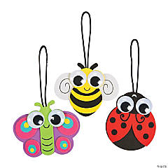 Spring Big Eye Bug Ornament Craft Kit