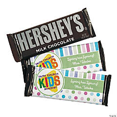 Spring Custom Photo Hershey's® Bars with Wrapper