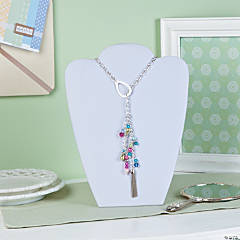 Spring Drop Necklace Idea