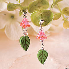 Spring Flower Earrings Idea