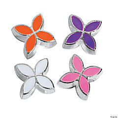 Spring Flower Large Hole Beads -13mm