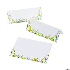 Spring Greenery Place Cards
