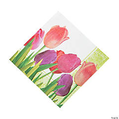 Spring in Bloom Luncheon Napkins