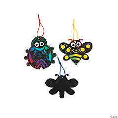 Spring Magic Color Scratch Ornament Craft Kit