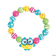 Spring Owl Bracelet Craft Kit