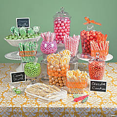 Spring Pastel Candy Buffet