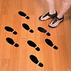Spy Agents Footprint Floor Decals