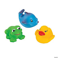 Squeaky Aquatic Characters
