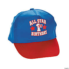 "1st Birthday ""All Star"" Baseball Hat"