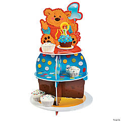 1st Birthday Bear Cupcake Holder