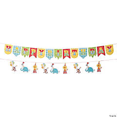 1st Birthday Circus Garland