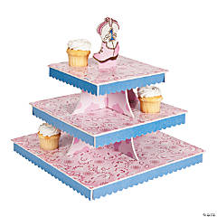 1st Birthday Pink Cowgirl Cupcake Holder
