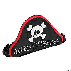 1st Birthday Pirate Hat