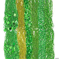 St. Patrick's Bead Necklace Assortment