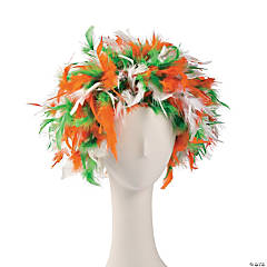St. Patrick's Day Feathered Headpiece