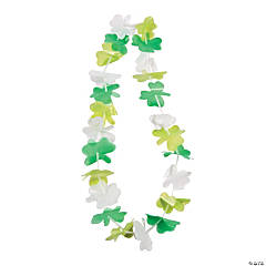 St. Patrick's Day Flower Leis