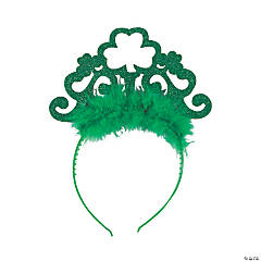 St. Patrick's Day Glitter Tiaras