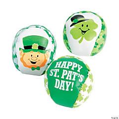 St. Patrick's Day Kickballs